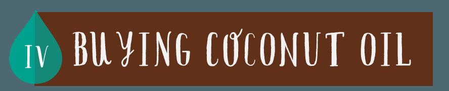 Buying Coconut Oil